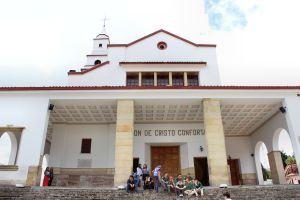 Church at the top of the Cerro de Monserrate